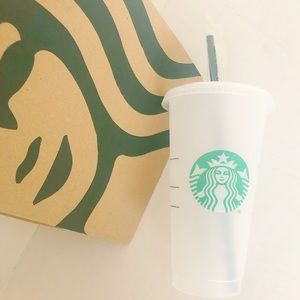 Starbucks Frosted Venti Reusable Cup 24 oz